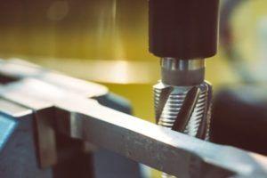 Frezowanie próbki płaskiej do rozciągania stali