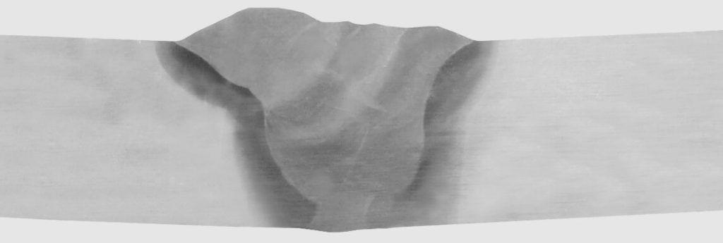 Rysunek 2. Złącze doczołowe, spoina czołowa
